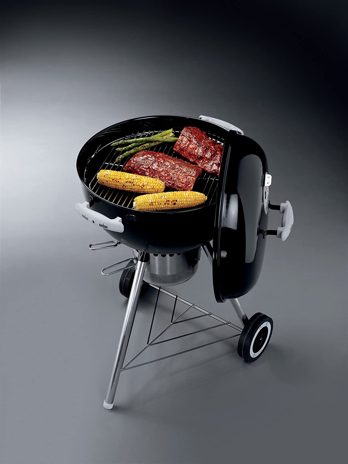 amazon com weber 451001 gold one touch 18 1 2 inch kettle grill