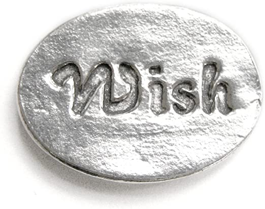 Basic Spirit Dragonfly//Imagine Pocket Token Coin Handcrafted Pewter Home Lead-Free CN-26