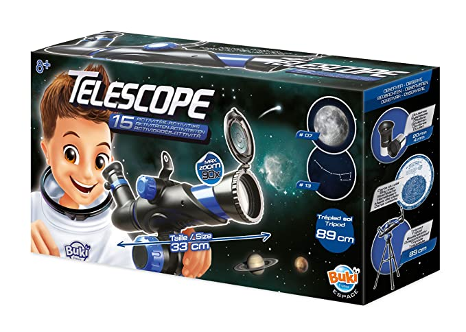 6009e4614b Buki France- Telescopio 15 Actividades (TS006B): Amazon.es: Juguetes y  juegos