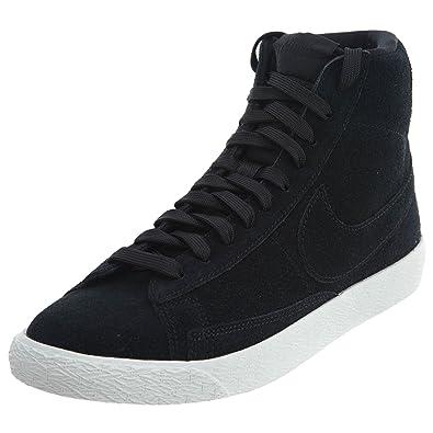 info for 862c3 70884 Nike Blazer Mid Big Kid s Basketball Shoes Black Black Summit White  895850-003