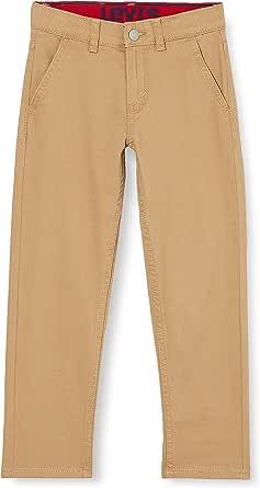 Levi's Kids Pantalones para Niños - Lvb 502 Rg Tapr Fit Belt Chino