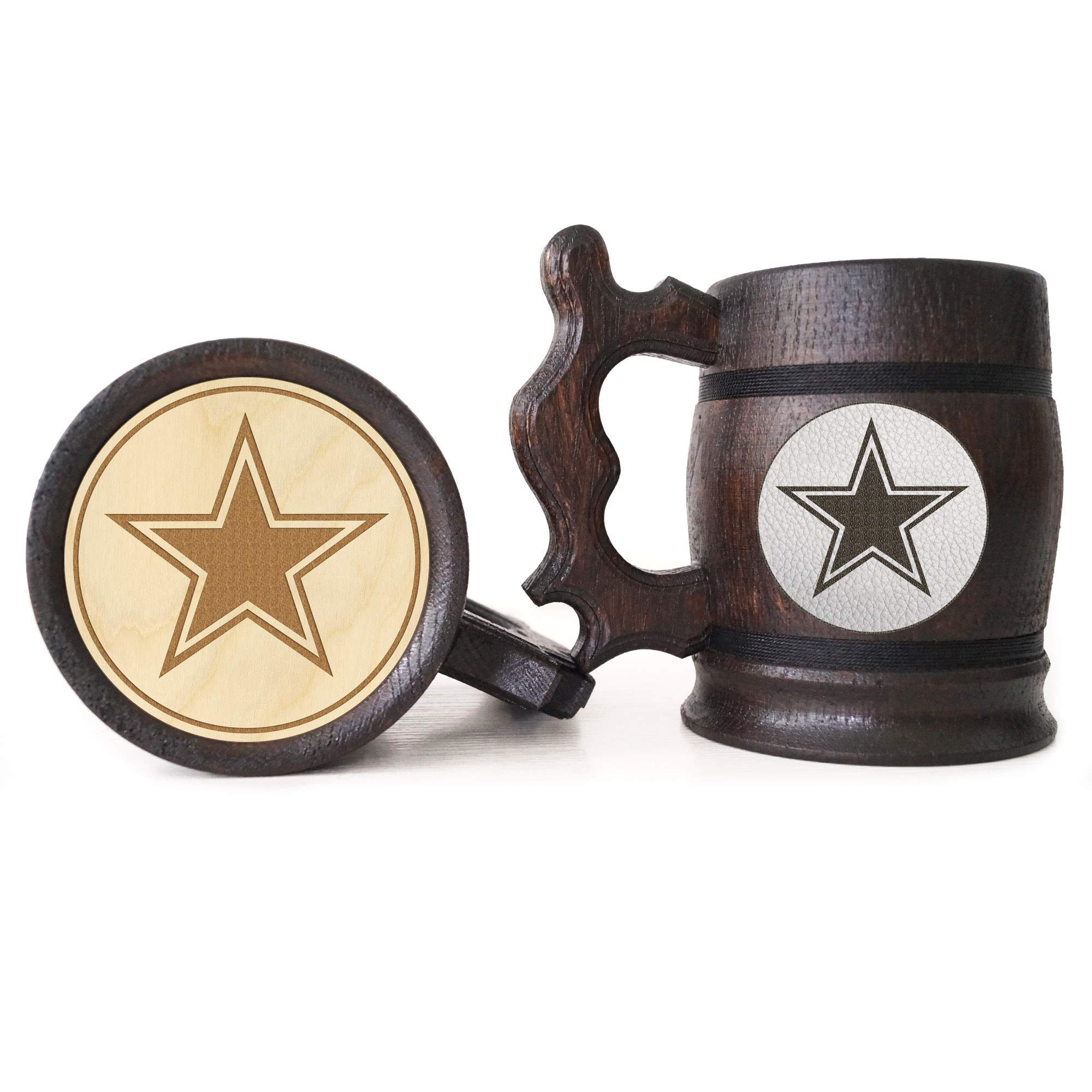 Dallas Cowboys Beer Mug American Football Wooden Beer Stein Sport Gift Personalized Beer Stein Dallas Cowboys ...  sc 1 st  Amzn.promo : dallas cowboys personalized gifts - princetonregatta.org