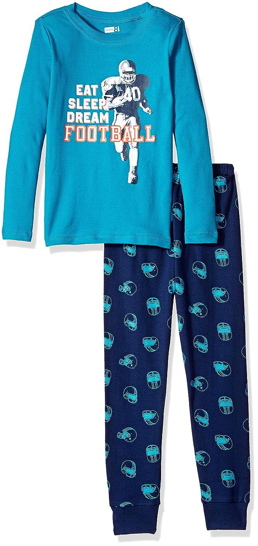 Crazy 8 Boys' 2 Piece Long Sleeve Tight Fit Pajama Set
