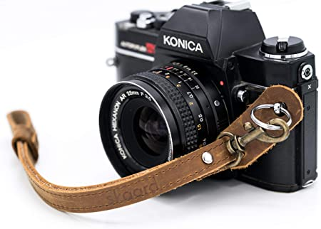 Skaard Kamera Handschlaufe Vintage Leder Kamera