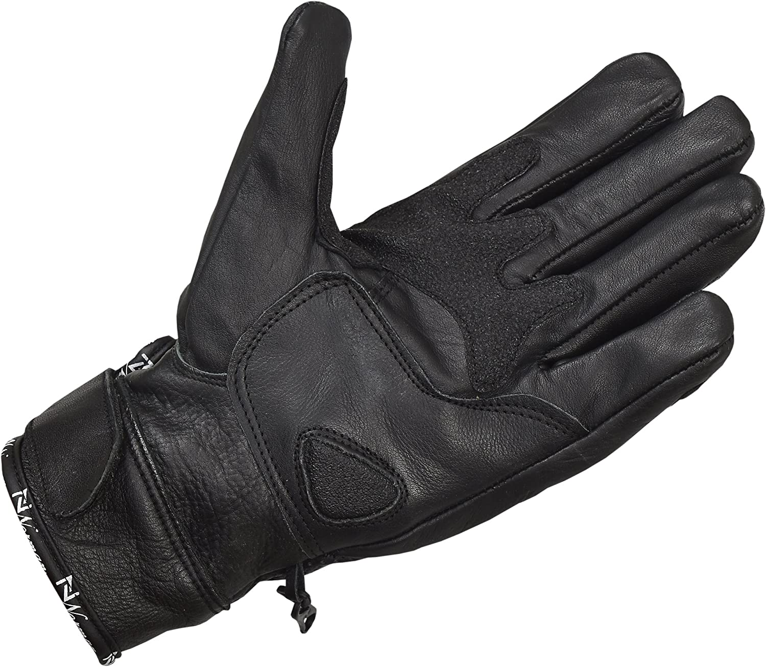 Black Leather Motorcycle Gloves Motorbike Carbon Knuckle Sports Racing