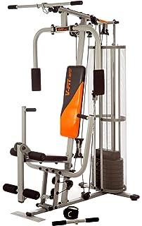 0723e1b97363 V-Fit STG09/3 Herculean Modular Compact PYTHON Gym 100kg: Amazon.co ...