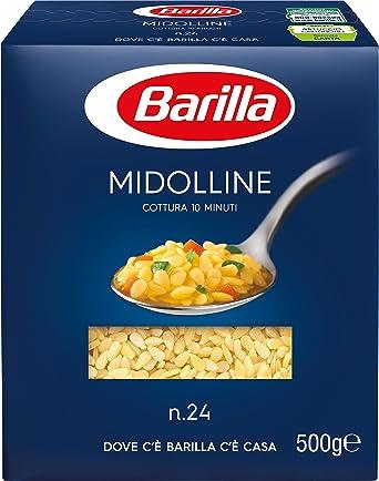 Barilla – midolline, pasta de semola de trigo duro, n.24 – 500