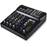 Alto Professional ZMX862 | Studio Quality 6 Channel Compact Audio Mixing Desk with Two XLR Microphone Inputs, Two Stereo Inpu