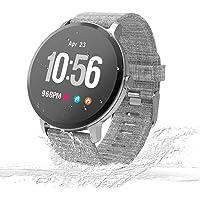 UniqueFit Smart Watch Fitness Tracker Smart Watch IP67 Monitor de Actividad, Monitor de Pasos, Reloj Deportivo Inteligente para niños, Mujeres y Hombres