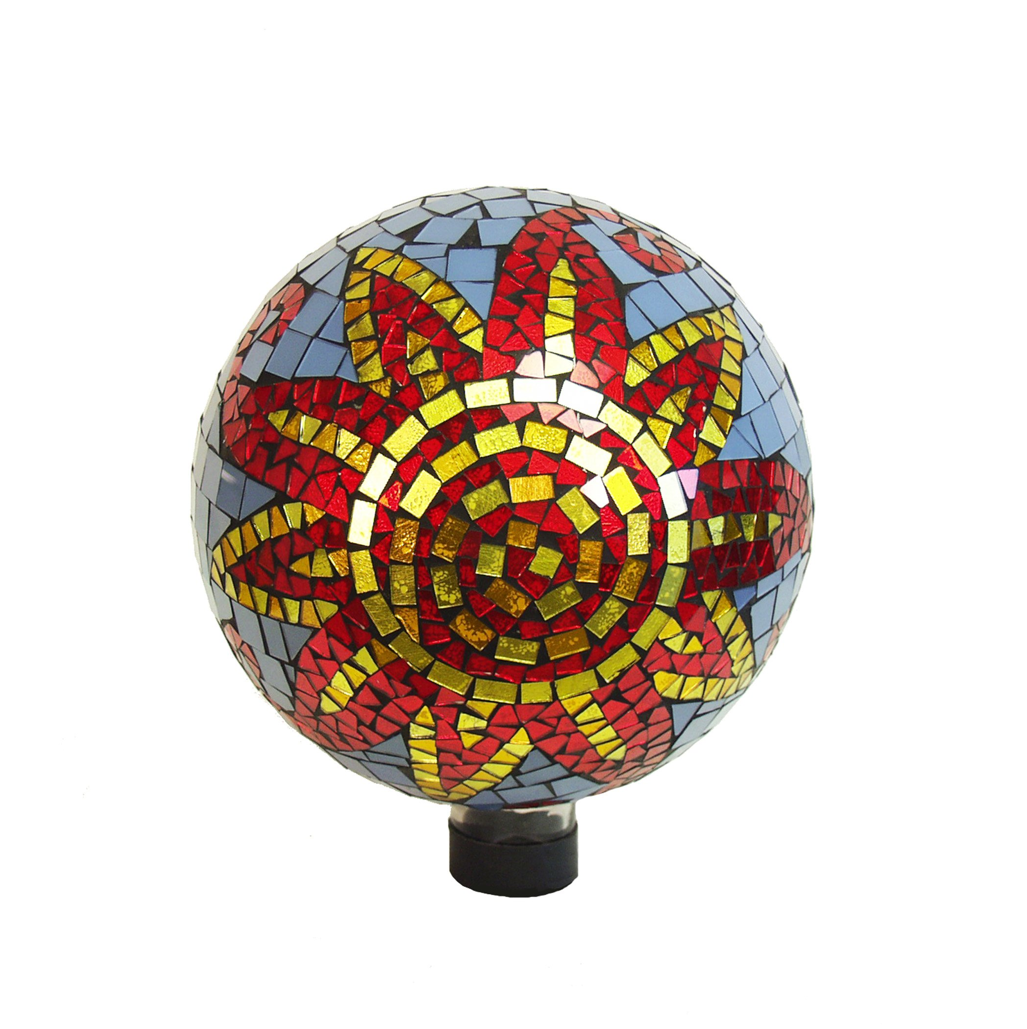 Echo Valley 8211 10'' Sunfire Mosaic Globe