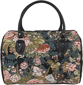 Signare Bolso de viaje grande de moda mujer en tela de tapiz para ...