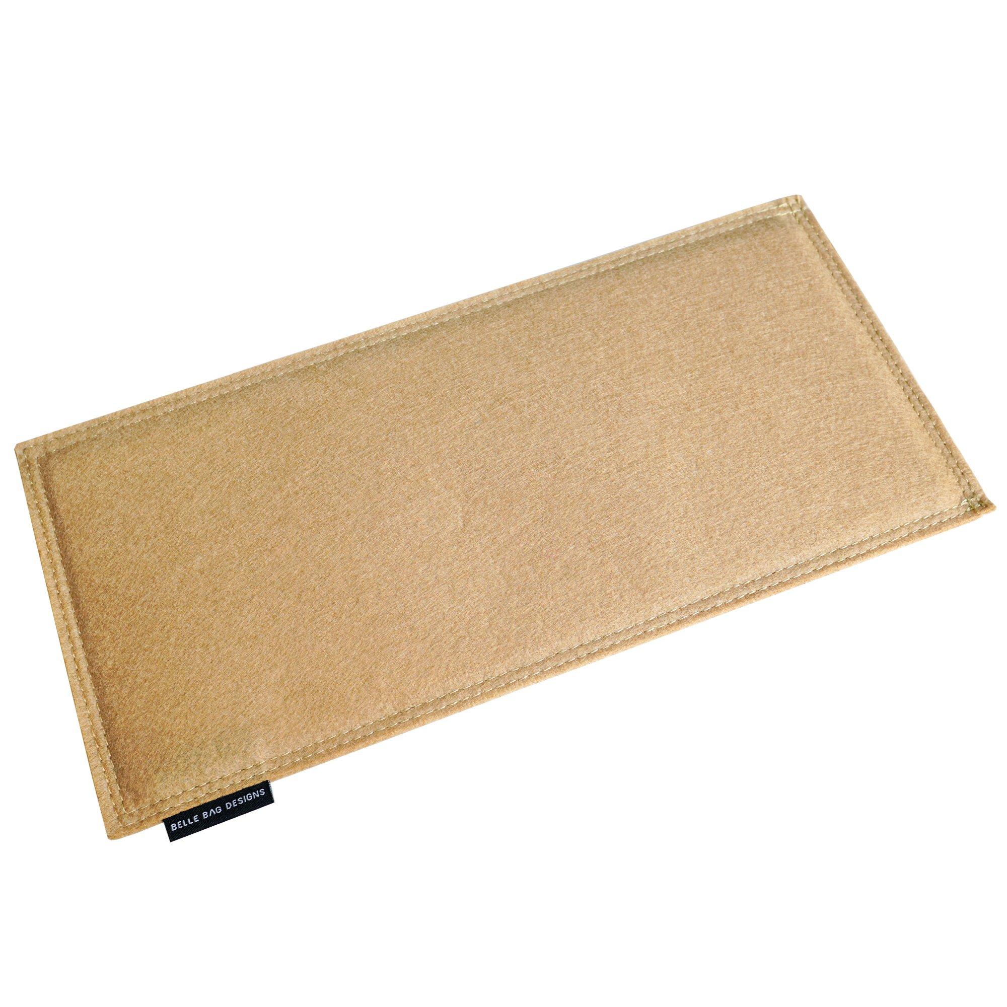 Beige Felt Bag Base Shaper for LV Neverfull MM