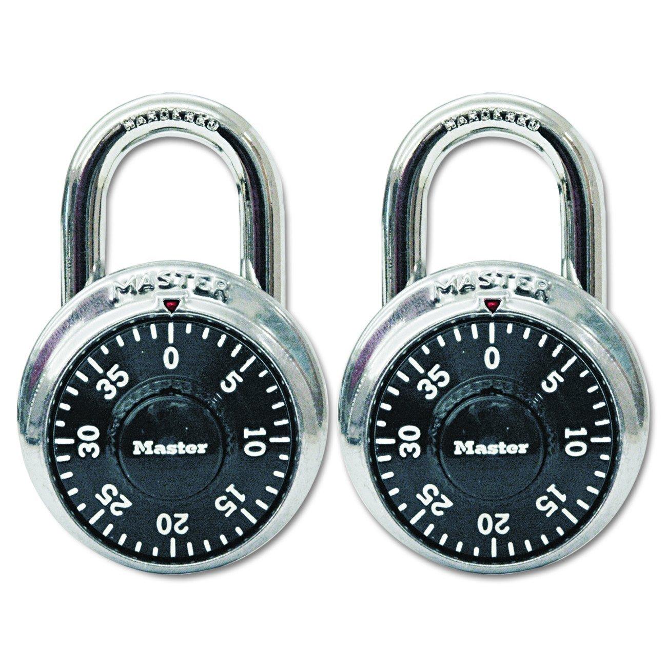 Master Lock 1500T Combination-Alike Locks, 4-Pack