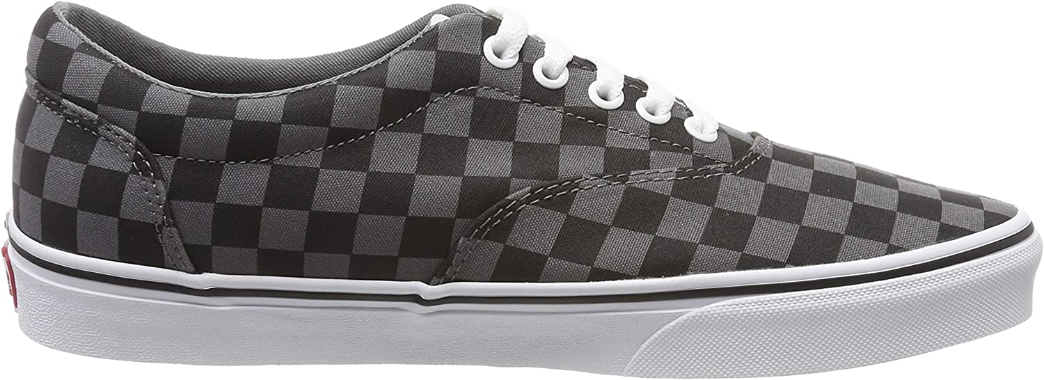 Vans Doheny, Baskets Homme Multicolore Checkerboard Black Pewter