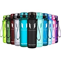 Super Sparrow Sports Water Bottle - 350ml & 500ml & 1000ml - Non-Toxic BPA Free & Eco-Friendly Tritan Co-Polyester Plastic - Fast Water Flow, Flip Top, Opens With 1-Click