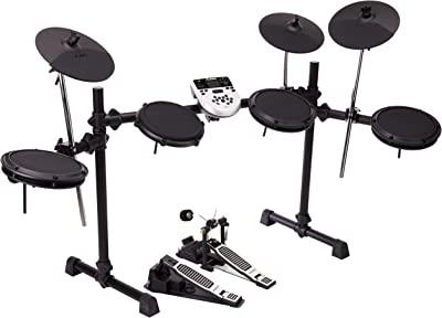 Five-Piece Ultra-Compact Electronic Drum Set