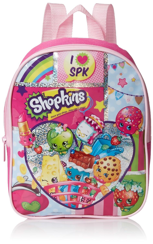 Amazon Com Shopkins Girls 10 Inch Mini Backpack Pink No