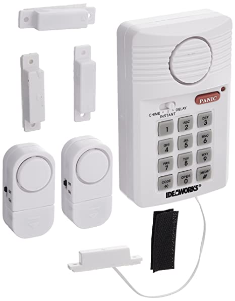 US Patrol JB7389 Home Alarm Fast and Easy Security System