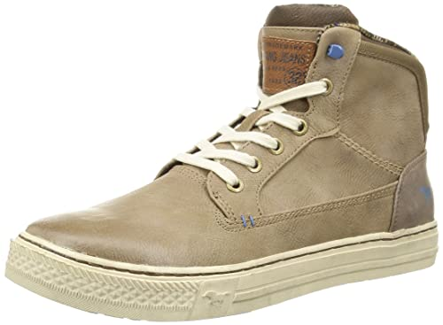 Mustang 4081504, Alpargatas para Hombre, Marrón (318 Taupe), 43 EU: Amazon.es: Zapatos y complementos