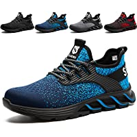 SUADEX Zapatos de Seguridad para Hombre con Puntera de Acero Zapatillas de Seguridad Trabajo, Calzado de Industrial y…