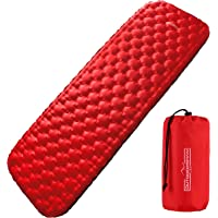 Outdoorsman Lab Sleeping Pad for Camping - Patented Camp Mat, Ultralight - Best Compact Inflatable Air Mattress for…