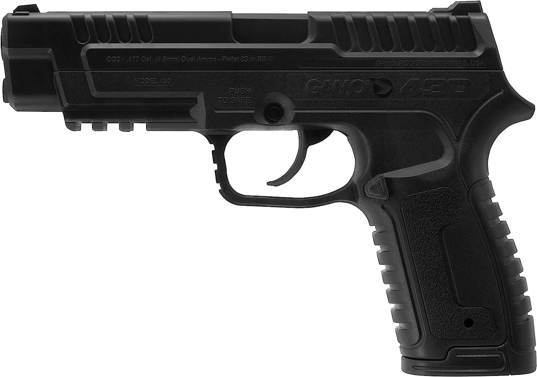 Gamo P-430 Pellet/Steel BB Pistol : Sports & Outdoors
