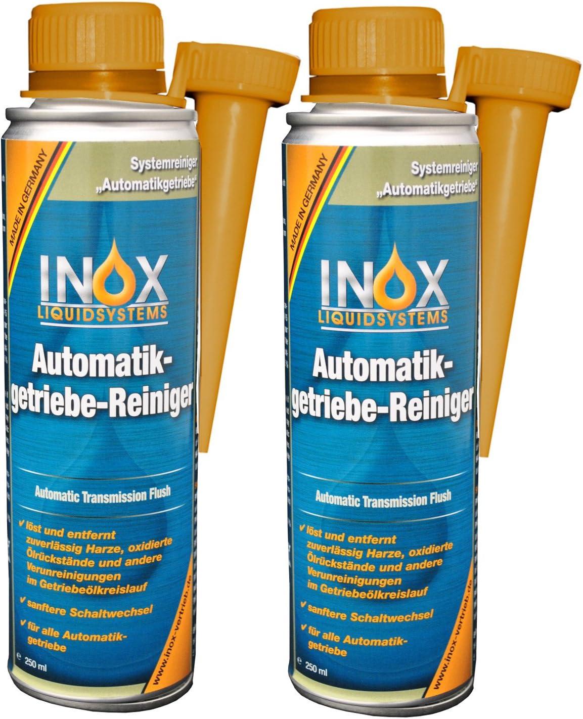 INOX® Aditivo limpiador de la transmisión automática, 2 x 250ml ...