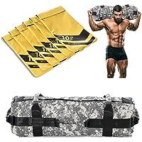 NBJStar Adjustable Workout Fitness Sandbag with 6 Filler Bags 10 to 60 Lbs