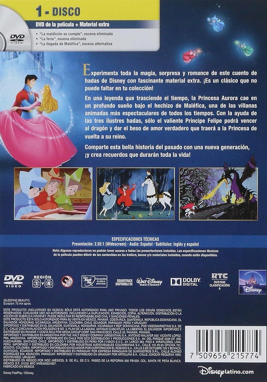 La Bella Durmiente Clasicos De Disney Edicion Latina: Amazon.es ...