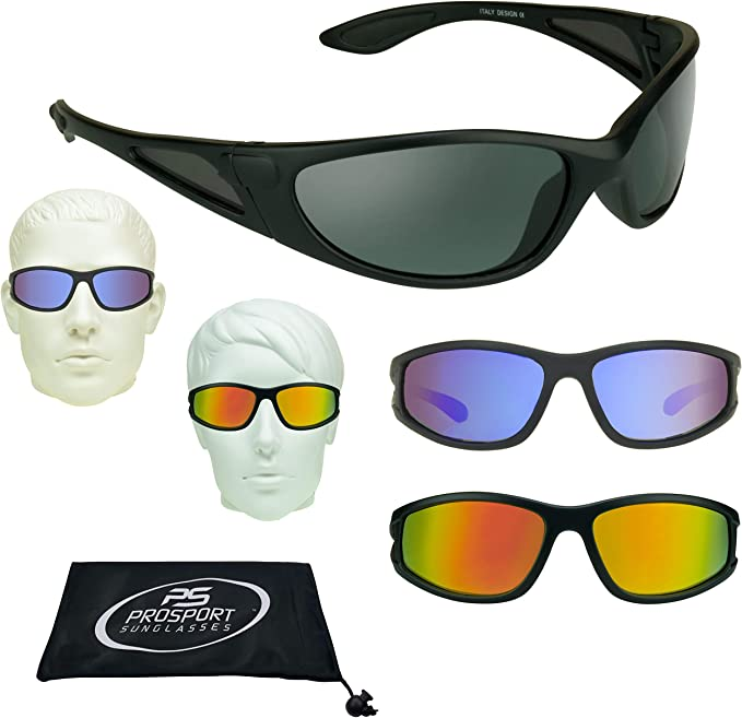 Floating Polarized Mirrored Sunglasses for Fishing, Boating and Water Activities.