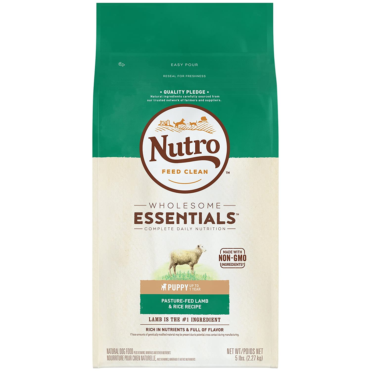 Nutro Wholesome Essentials Limited-Ingredient Dog Food