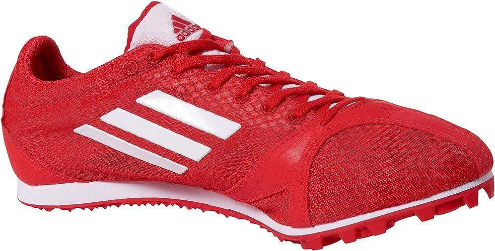 ADIDAS Arriba 3 Zapatilla de Clavos Señora, Rojo/Amarillo, 40: Amazon.es: Zapatos y complementos