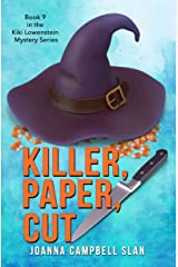 Killer, Paper, Cut: Book #9 in the Kiki Lowenstein Mystery Series (but can be read as a stand-alone) Kindle Edition