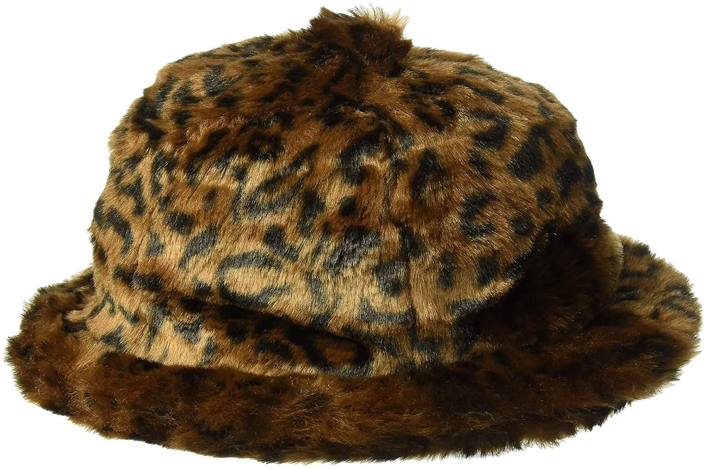 e5c1a438 Kangol Men's Faux Fur Casual Bucket HAT, Leopard, XL: Amazon.ca: Clothing &  Accessories