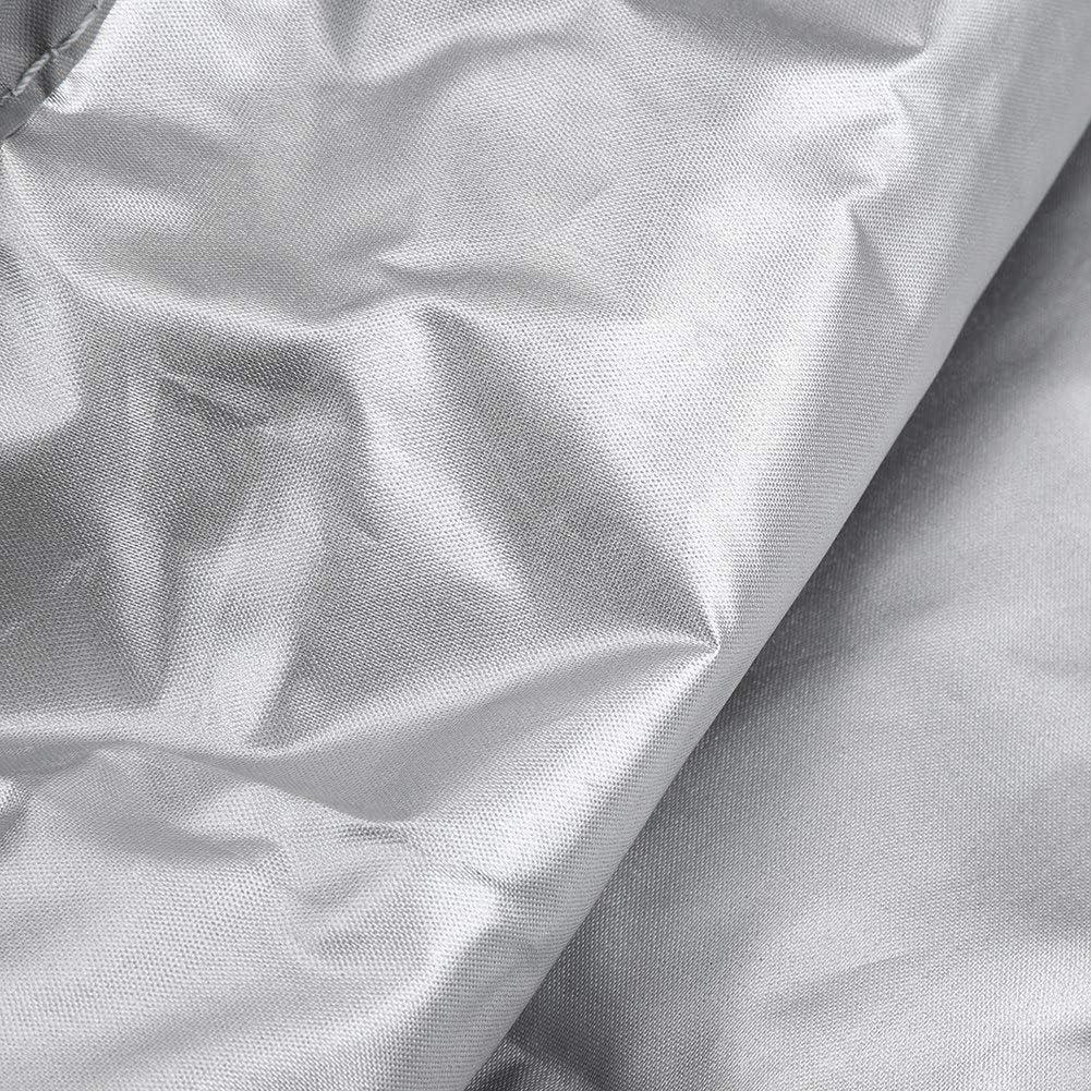 Copertura per Sdraio da Giardino Impermeabile Anti UV a Prova di Polvere Patio Lettino Copertura per Sdraio Protezione per mobili da Esterno con Custodia Grey