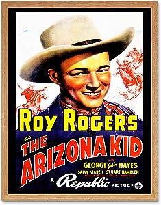 Wee Blue Coo Movie Film Arizona Kid Roy Rogers Cowboy Western USA Art Print Framed Poster Wall Decor 12x16 inch