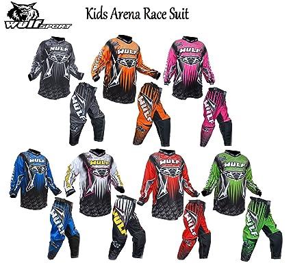 Traje de carreras Wulf Kids arena, estilo 2016, Motocross y ...