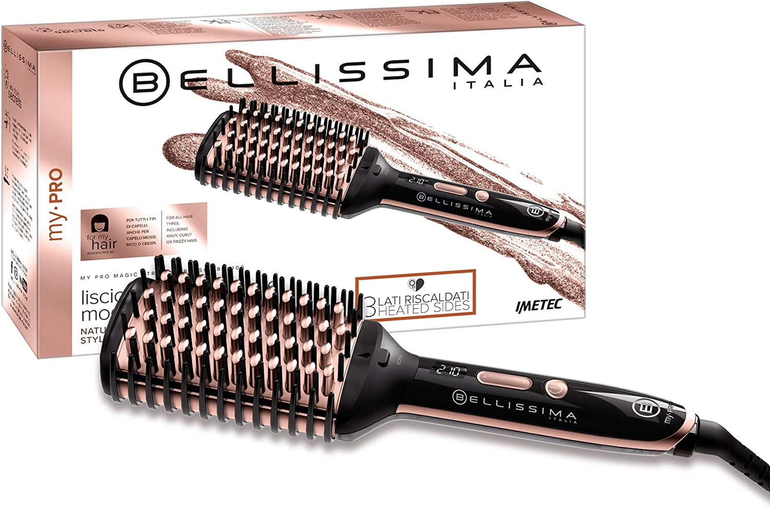 Imetec Bellissima My Pro Magic Straight Brush PB11 100 - Cepillo ...