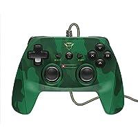 Trust GXT 540C Yula Kablolu Oyun Pedi (PC, Laptop ve PS3 için Kablosuz Kontrol), Yeşil