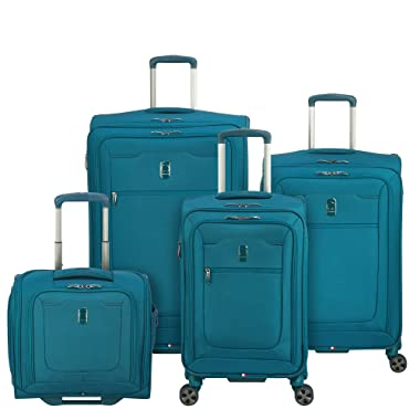 Delsey Luggage Hyperglide 4-Piece Nested Set