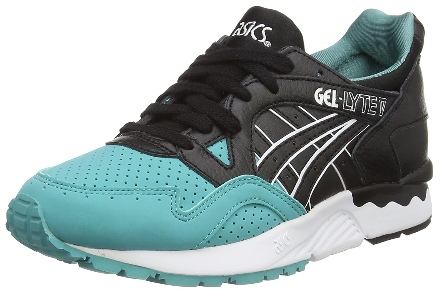 Asics Gel-Lyte V - Zapatillas Bajas, Unisex, Color Azul (Latigo Bay/Black  8990), Talla 39.5: Amazon.es: Zapatos y complementos