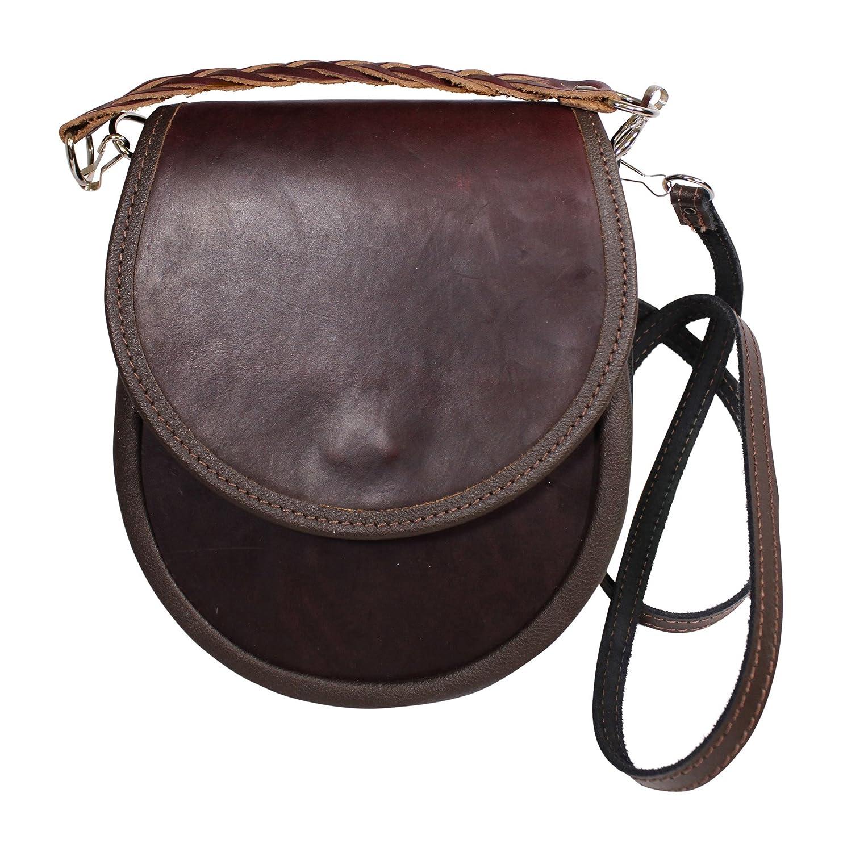 51dced39e8e8 Amazon.com: Margaret Morrison Fabulous Dark Brown Leather ...