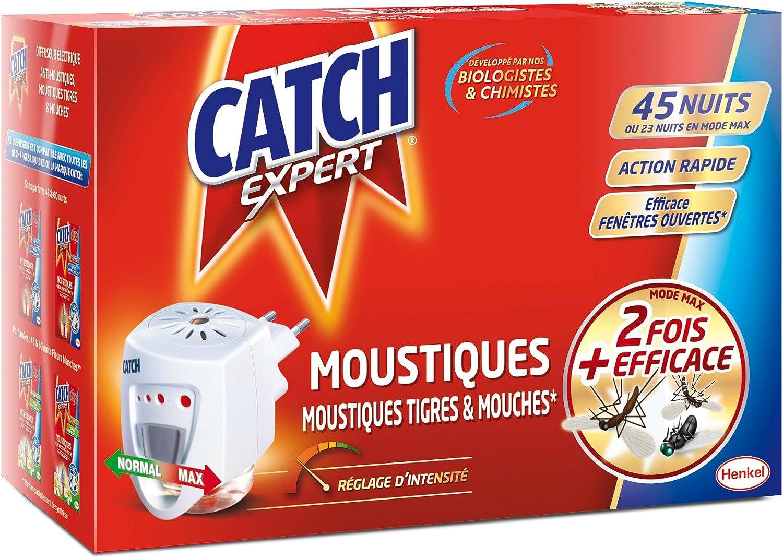Catch - Difusor eléctrico para moscas/mosquitos, con recambio