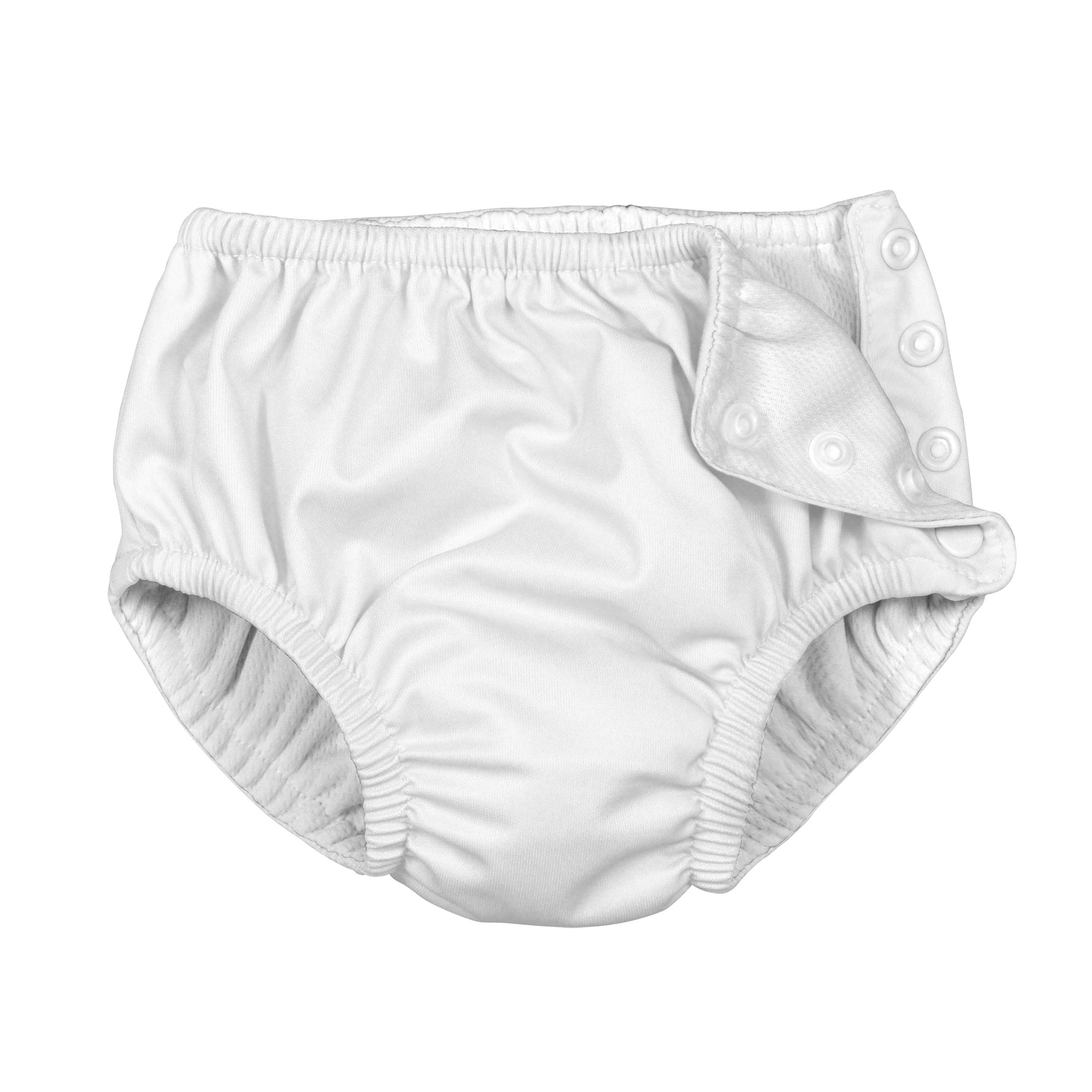 i play.. Baby Toddler Ultimate Reusable Snap Swim Diaper, New White, 3T