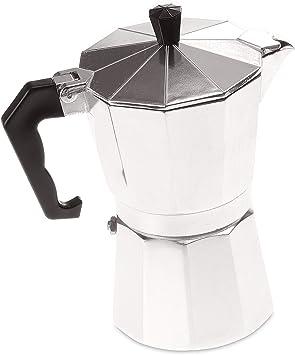 Dolce Vita y Savoir Vivre - Cafetera italiana (6 tazas, 300 ml, aluminio): Amazon.es: Bricolaje y herramientas
