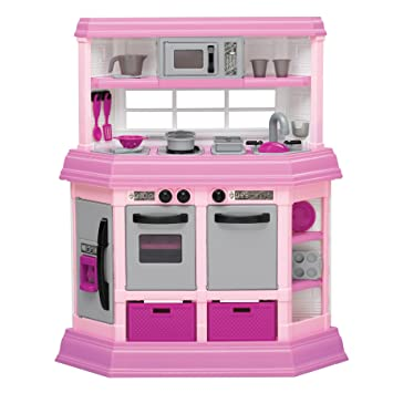 Amazon Com 22 Piece Custom Kitchen Set Kids Play Kitchen Set Toys