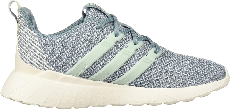 adidas Women's Questar Flow Running Shoe Ash Grey/Ice Mint/Raw Grey