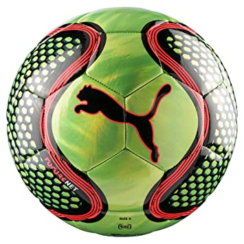 332ffdc274f17 Puma Future Net Football Soccer Ball Green/Black - Size 4