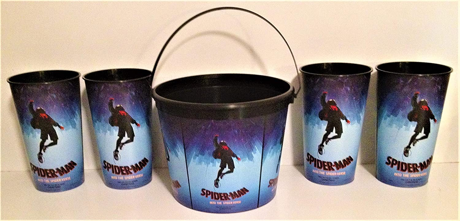 Marvel Comics: Spider-Man Into the Spider-Verse Movie Theater Exclusive 170/44 oz Family Pack
