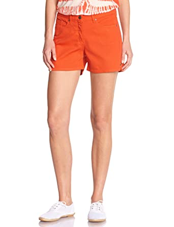 Kookai Women s SHORT Shorts - Orange - Orange (Mandarine) - 6 (Brand size a968d9d58